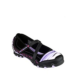 Skechers - Girl's black 'Prima Prancy' ballerina shoes