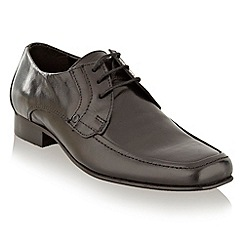 bluezoo - Boy's black smart lace up shoes
