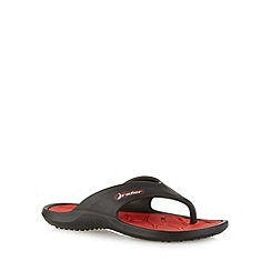 Rider - Boy's red rubber flip flops