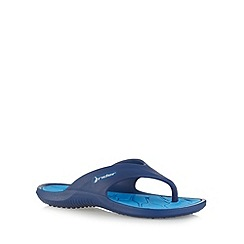 Rider - Boy's blue rubber flip flops