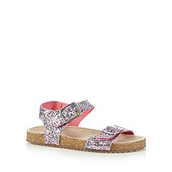 bluezoo - Girl's pink sequin sandals