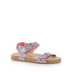 bluezoo - Girl's pink sequin sandals