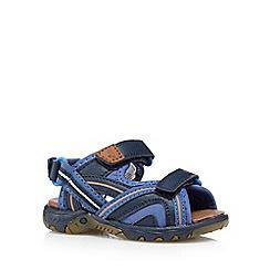 bluezoo - Boy's navy triple strap sandals