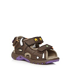 The Gruffalo - Boy's brown 'Gruffalo' sandals