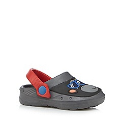 bluezoo - Boy's grey monkey slingback sandals