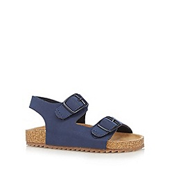 bluezoo - Boy's blue strap sandals