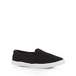 bluezoo - Boy's black skate shoes
