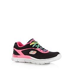 Skechers - Girl's black 'Appeal' trainers