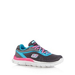 Skechers - Girl's grey 'Appeal' trainers
