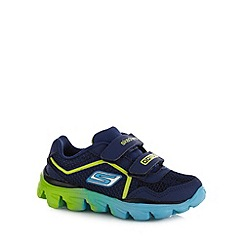 Skechers - Boy's navy 'Go Run' trainers