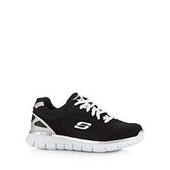 Skechers - Boy's black 'Synergy' trainers