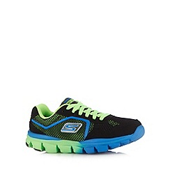 Skechers - Boy's black 'GORun Ride' trainers