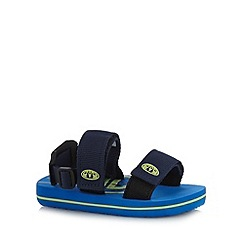 Animal - Boy's blue canvas strap sandals