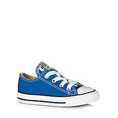 Converse - Boy's blue trainers