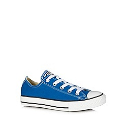 Converse - Boy's bright blue trainers