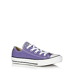 Converse - Girl's purple trainers