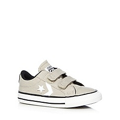 Converse - Babies grey star trainers
