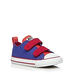 Converse - Babies purple ripe tape shoes