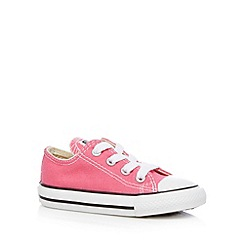 Converse - Girl's bright pink trainers