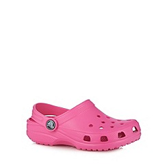Crocs - Pink classic croc clogs