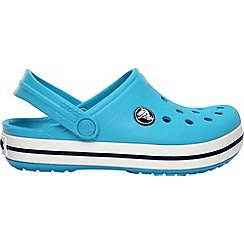 Crocs - Boy's blue band clogs