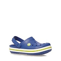 Crocs - Boy's royal blue clogs