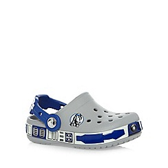 Crocs - Boy's grey 'Star Wars' clogs