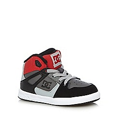 DC - Boys red 'Rebound' trainers