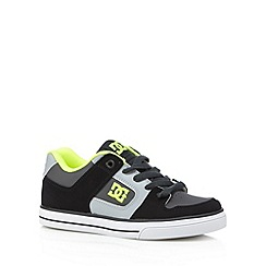 DC - Boy's lime 'Pure' trainers