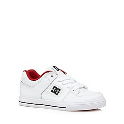 DC - Boy's white 'Pure' trainers
