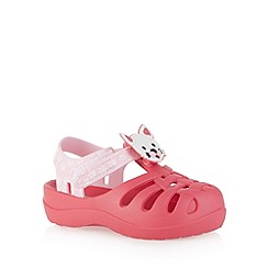 Ipanema - Girl's pink 3D kitten sandals
