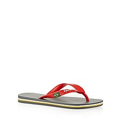 Ipanema - Boy's grey two tone textured flip flops