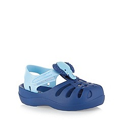 Ipanema - Boy's navy 3D elephant sandals