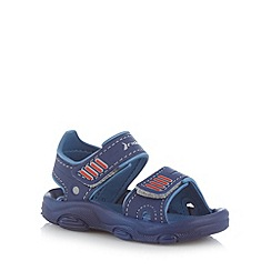 Rider - Boy's navy two tone sandals