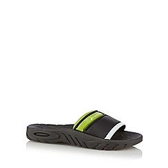 Rider - Boy's black '86' sandals