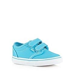 Vans - Boys bright blue two tab trainers