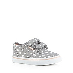 Vans - Girls grey tab trainers