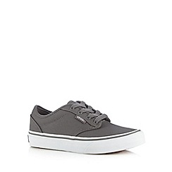 Vans - Boys dark grey classic trainers