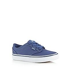 Vans - Boys blue classic trainers
