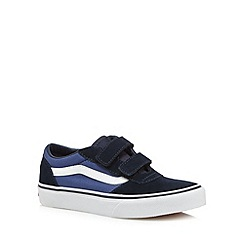 Vans - Boy's navy 'Classic' trainers