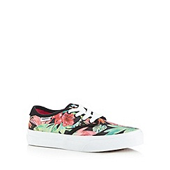 Vans - Girls green classic trainers