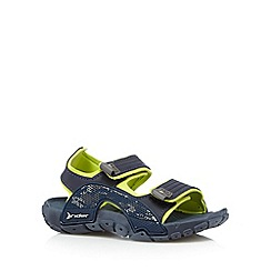 Rider - Boy's navy rip tape sandals