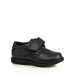 Debenhams - Boy's black PU rip tape shoes