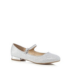 bluezoo - Silver glitter Mary Jane shoes