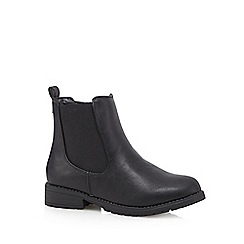 bluezoo - Girl's black chelsea boots