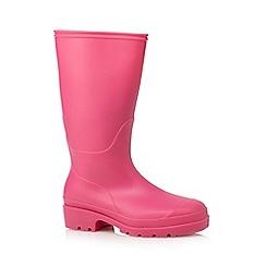 bluezoo - Girls' pink wellington boots