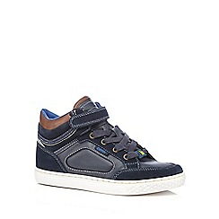 Baker by Ted Baker - Boys' blue high top trainers