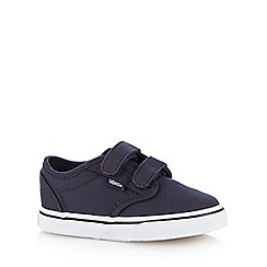 Vans - Boys' navy 'Atwood' trainers