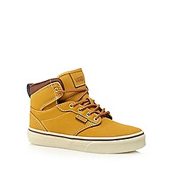 Vans - Boy's tan high top shoes