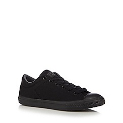 Converse - Boy's black 'High Street' canvas trainers